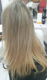 Mega hair loiro 50cm