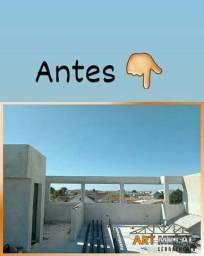 Estrutura Metálica, para residência, garagens, Ediculas, lavanderias, comércio,