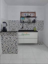 Apartamento com 2 dormitórios para alugar, 45 m² por R$ 670/mês - Carapina Grande - Serra/