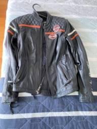 Jaqueta de couro Harley