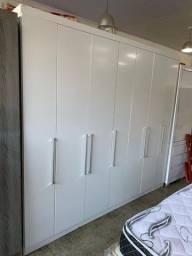 Guarda roupa 7 portas grande novo