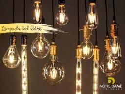 Lâmpada Led Retrô de Filamento - Transforme seu ambiente com elegância!!!