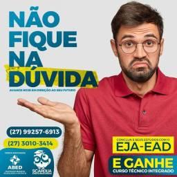 Título do anúncio: SUPLETIVO- EJA -EAD. CONCLUA SEUS ESTUDOS,