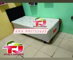 cama box solteiro pelmex
