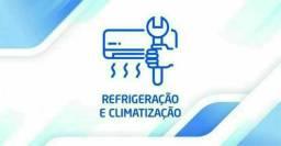 Instalação de ar condicionado e Manutenção em  sistema de ar condicionado