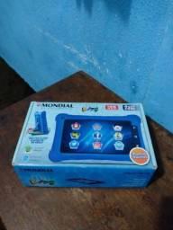 Tablets Kid Mondial T-18 e T-19. Novos e na Garantia. R$300,00