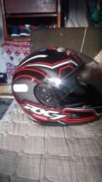 Título do anúncio: Vendo capacete rx7 novo