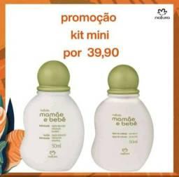 Kit miniatura mamãe e bebê