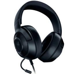 Headset Gamer Razer Kraken X Lite, P2, Drivers 40mm  - Loja Natan Abreu