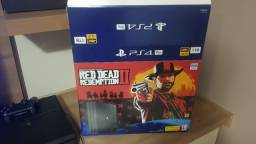 PS4 Pro + 1 Controle + Red dead
