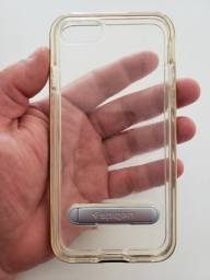Capa Spigen iPhone 7, 8 Crystal Hybrid - Dourada