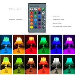 Lâmpada Led Dicroica Rgb 3w Colorida