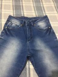 Calça jeans flare nova