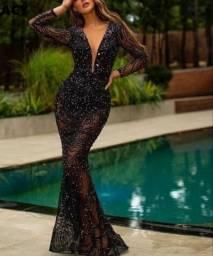 Vestido Longo Preto - Formatura
