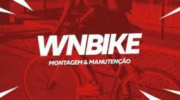 Trabalhamos com montagem e manutenção de bike