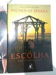 Livro A Escolha de Nicholas Sparks