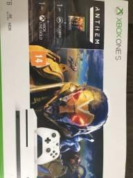 Xbox one s 1tb semi novo 3 jogos 1 controle