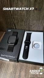Smartwatch X7 atualizado com duas pulseiras
