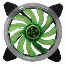 Cooler FAN Ring Bluecase 120mm / Verde / Vermelho / BFR-05G/R - Novo