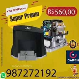 Motor Garen Speed 1/3 para portão de garagem com instalação