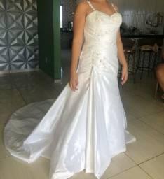 Vestido de noiva pedraria Swarovski