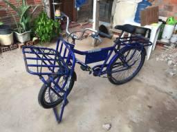 Vendo bicicleta cargueiro dois anos de uso e nota fiscal