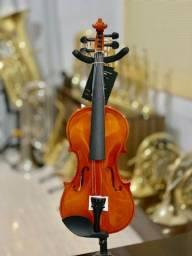 Violino Jahnke novo 4/4 linda acústica