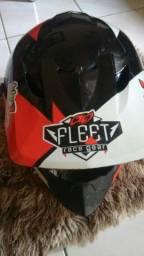 Capacete motocross pra negócio