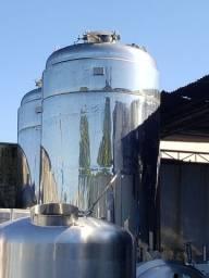 Tanque em aço inox 12.000 litros