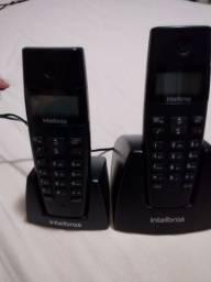 Telefone sem fio digital TS 40 ID Intelbras TS40ID Com Identificação de chamadas.