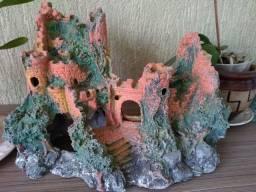 Castelo Resina para aquário