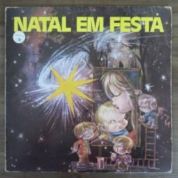 LP Disco De Vinil Eduardo Assad - Natal Em Festa + 2 compactos de brinde