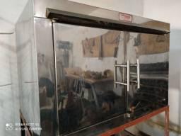 Forno industrial elétrico para laminação de órtese e prótese