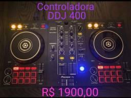 Controladora Pionner DDJ 400 (Nova)