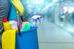 Serviço Extra Auxiliar de Limpeza para 5 dias de trabalho