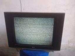 TV LG 21 polegadas de tubo e conversor