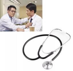 Estetoscópio Cardiológico Profissional Premium Preto
