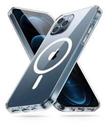 Case Transparente C/ Magsafe Para iPhone 12 Pro Max