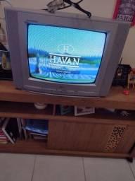 """Tv 24""""  vai com conversor e antena"""