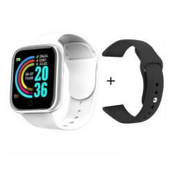 Smartwatch D20 Relógio Inteligente Com Duas Pulseiras