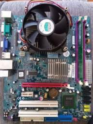 Kit 775 DDR2 [Defeito]