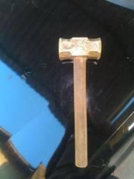 Marreta antiga de cobre berílio