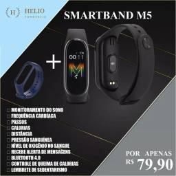 OPORTUNIDADE Smartband m5 aceito cartão divido sem juros Com uma pulseira extra