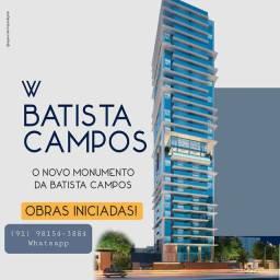 100m2, 3 suites na batista campos, 2vg, Magnífico!!!