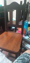 2 cadeiras de madeira 70