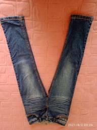 Calça jeans infantil, 8 anos