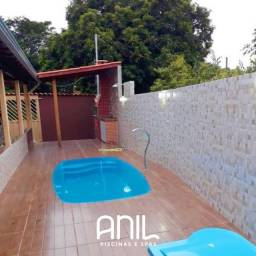 Título do anúncio: JA Promocao de piscina de fibra - Fábrica 30 anos