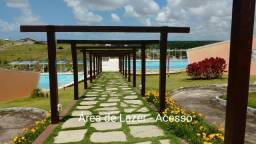 Terreno quitado Condomínio Maanaim Country Conde-PB