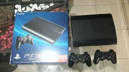 Ps3 Playstation 3 com 30 jogos e 2 controles