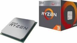 Ryzen 3 2200g pra sair rápido, produto novo